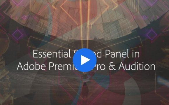 Conoscere il Sound Panel Essential in Premiere Pro.